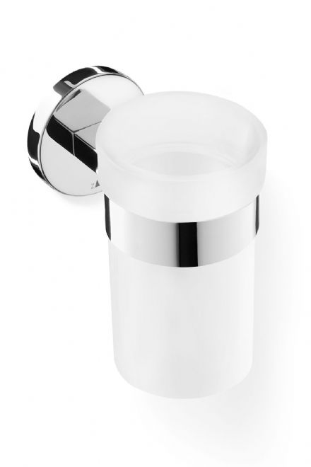 Zack Scala Tumbler with Holder Polished Stainless Steel